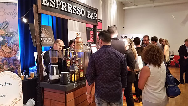 Cupa Cabana Corporate Espresso Bar Setup