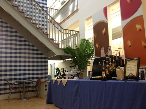 Cupa Cabana Corporate Espresso Bar Setup