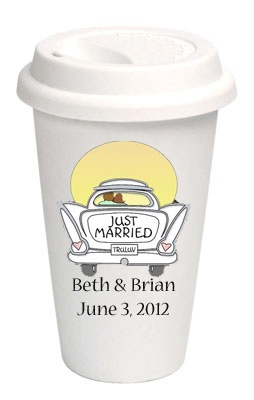 Customized Wedding Goodbye Coffee Cups