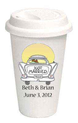 Customized coffee cups Good Bye Coffee Service