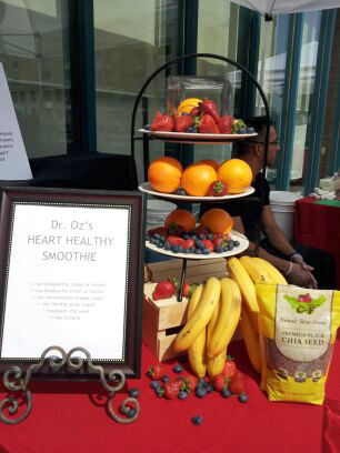 The Dr Oz Heart Healthy Smoothie Recipe by Cupa Cabana