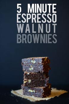 5 Minute Espresso Dessert - Holiday Espresso Desserts