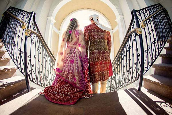 Indian Wedding Traditional Bride and Groom Wear