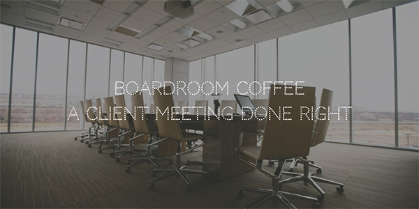 boardroom coffee - cupa cabana coffee and espresso catering