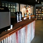 Mobile Espresso and Coffee Catering NYC at Girl With the Dragon Tattoo Pop Up Store