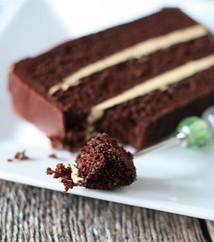 Chocolate Cake & Espresso Buttercream - Holiday Dessert